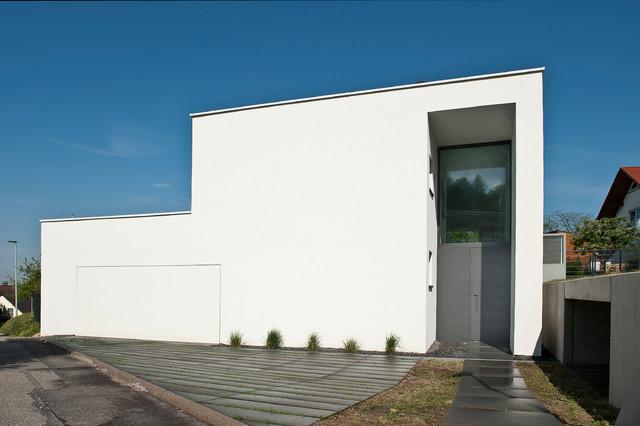 Haus bb minimalistisch h user sonstige von bau for Haus minimalistisch