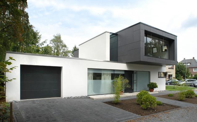 Haus b rger minimalistisch haus fassade other for Haus minimalistisch