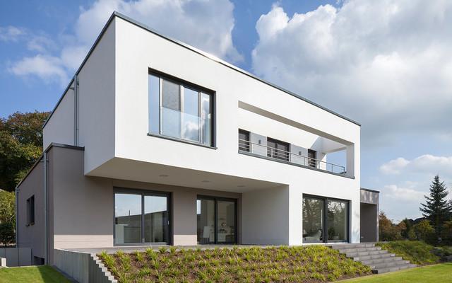Haus k r srath forsbach minimalistisch haus for Haus minimalistisch