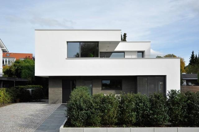 Haus M Modern Exterior Hamburg by Sieckmann