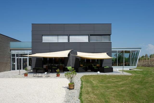 Haus mit flachdach for Haus modern flachdach