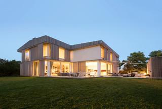 Relativ Moderne Häuser mit Satteldach Ideen, Design & Bilder | Houzz WA81