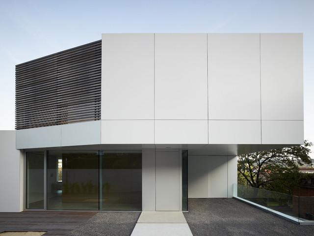 Fassade modern  Haus T Fassade - Modern - Häuser - Sonstige - von Sebastian David ...