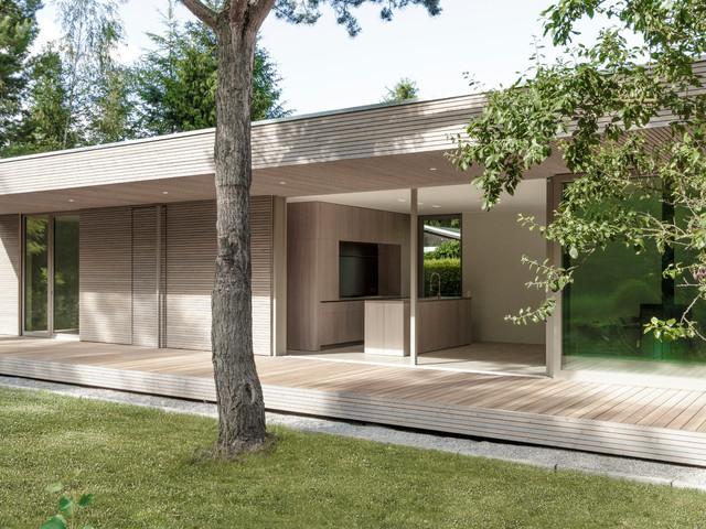 Minimalistisch Hauser By 2D Architekten