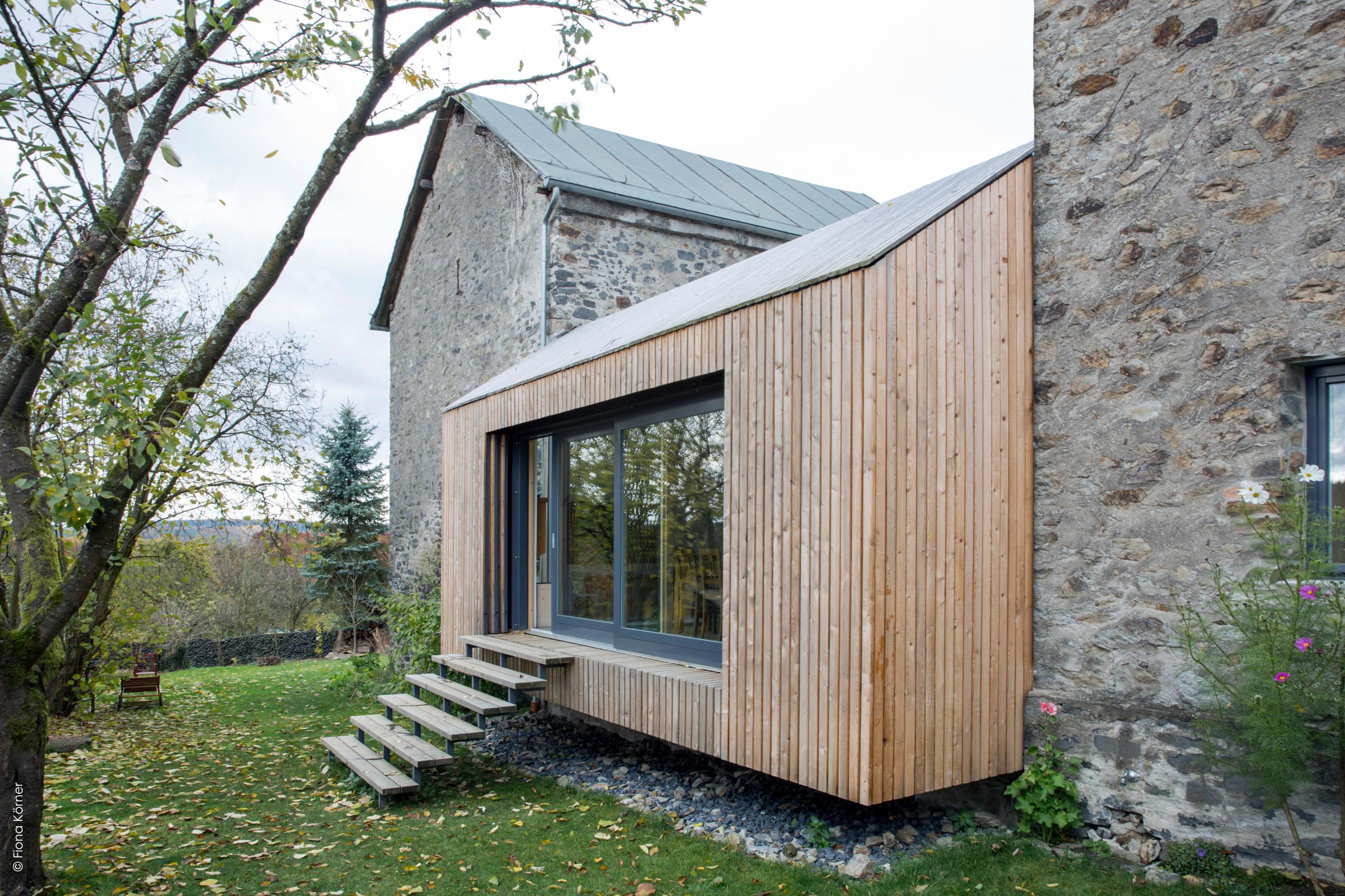 Nachhaltiger Umbau eines 20 Jahre alten Bruchsteinhauses