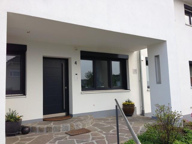 Hauseingang Modern Haus \u0026 Fassade Sonstige von