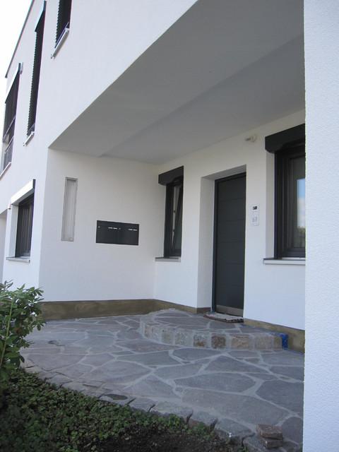 Haus Eingang hauseingang nach umbau