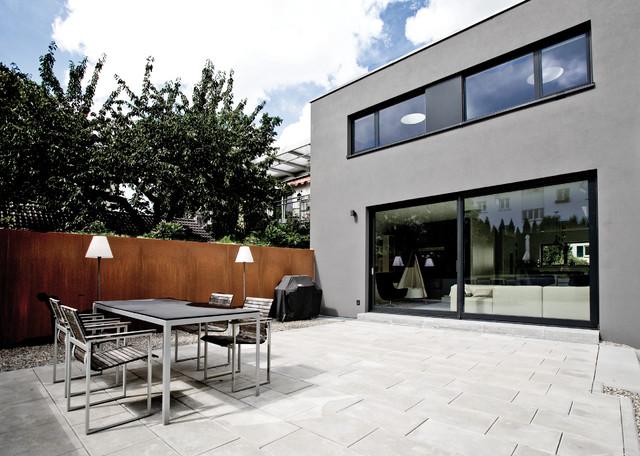 K49 for Modernes backsteinhaus