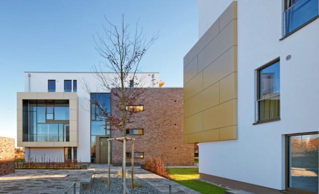 Kubische Bauweise, Wohnhäuser Büdelsdorf Modern Haeuser