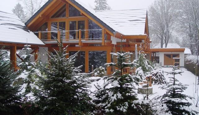 Landhaus: Modernes Fachwerkhaus im nordischen Stil - Landhausstil ...