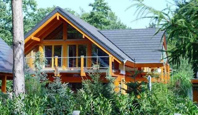 landhaus modernes fachwerkhaus im nordischen stil landhausstil h user berlin von. Black Bedroom Furniture Sets. Home Design Ideas