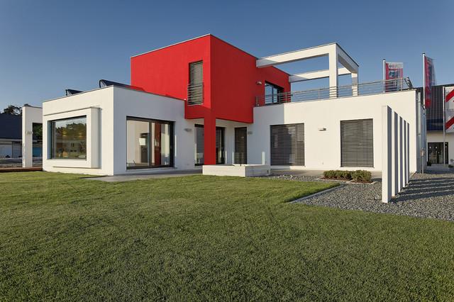 Fertighaus Heßdorf luxhaus musterhaus hessdorf nürnberg modern häuser nürnberg