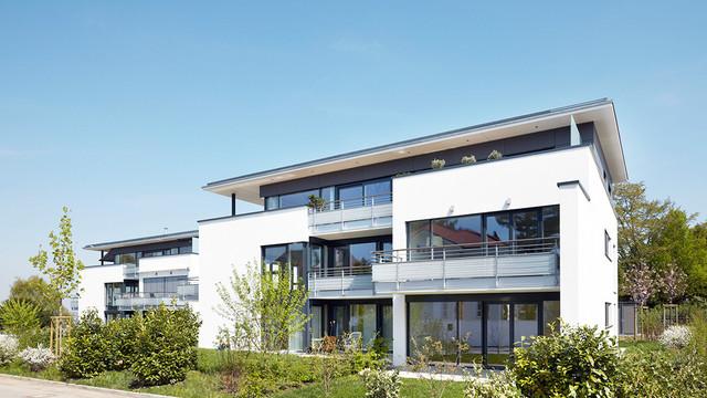 Mehrfamilienh user for Mehrfamilienhaus modern