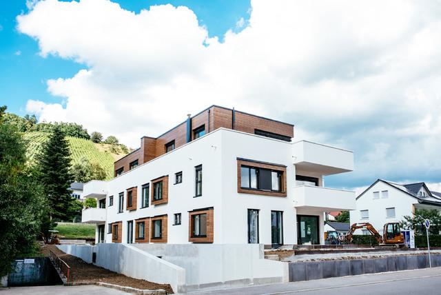 Mehrfamilienhaus sch23 modern h user stuttgart for Mehrfamilienhaus modern