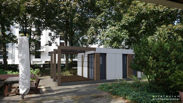 mobiler pavillon. Black Bedroom Furniture Sets. Home Design Ideas