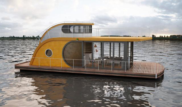 model 01 - Maritim - Häuser - Berlin - von Nautilus Hausboote