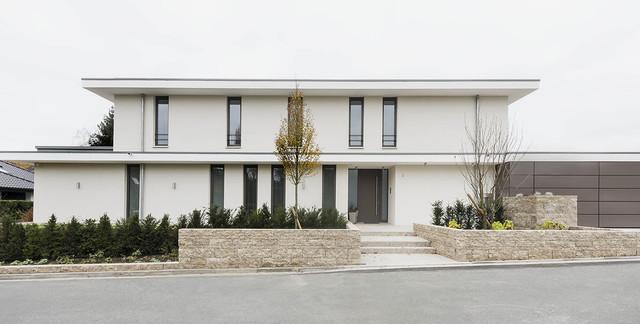 Fassade Modern modern haus fassade