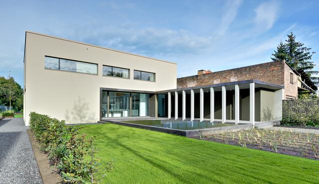 moderne villa im denkmal ensemble in berlin modern h user berlin von m hring architekten. Black Bedroom Furniture Sets. Home Design Ideas