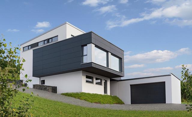 Modernes Haus modernes haus mit garage