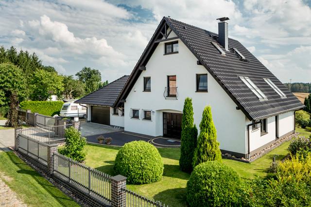 Landhaus modern fassade  Modernes Landhaus Variodomo - Modern - Häuser - Leipzig - von ...
