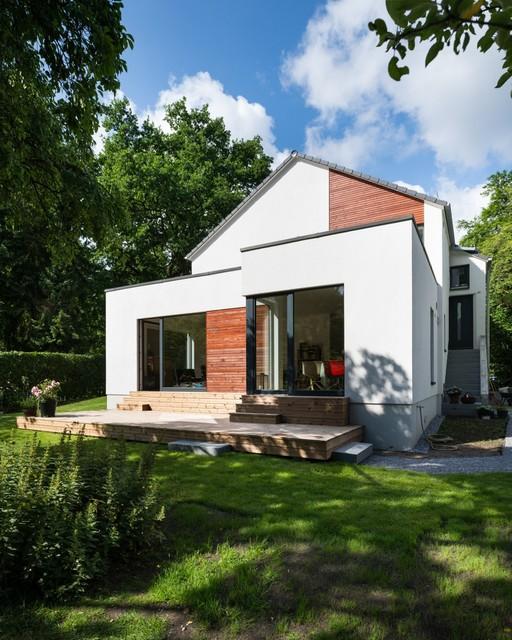 moderne Haus Architektur  Fraser Residenz  fronblick