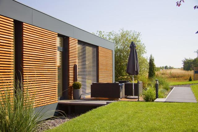 Musterhaus modern  Musterhaus freelance - Modern - Häuser - Sonstige - von smartshack®