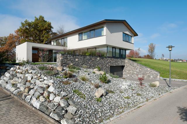 steingarten hanglage modern – igelscout, Gartenarbeit ideen