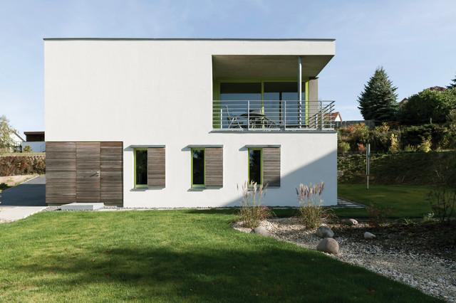 Einfamilienhaus neubau modern holz  Neubau Einfamilienhaus - Modern - Häuser - Leipzig - von AMBRUS+CO ...