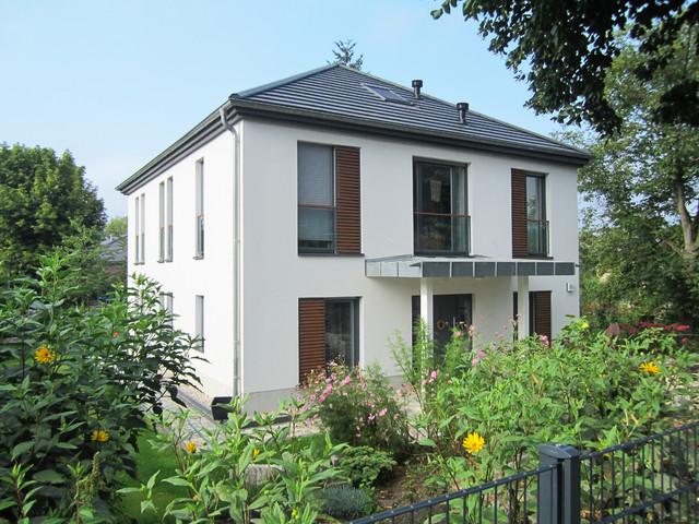 Neubau einfamilienhaus berlin for Moderne fassade einfamilienhaus