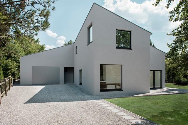 Neubau einfamilienhaus modern haus fassade berlin for Moderne fassade einfamilienhaus