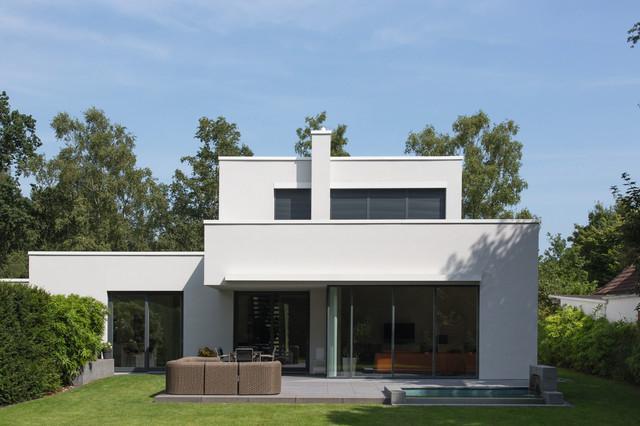 Neubau einfamilienhaus for Haus minimalistisch