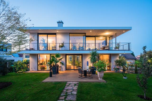 opend house einfamilienhaus in lorsch modern h user. Black Bedroom Furniture Sets. Home Design Ideas