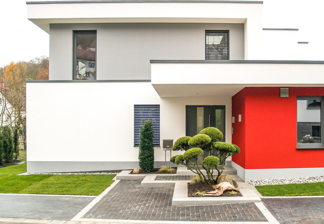 Hausfassade modern  Haus Fassade– ein Ideenbuch von leifs