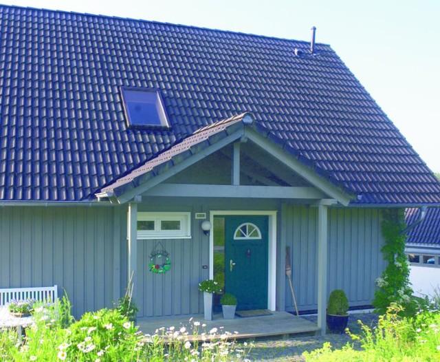 Porches contemporary timber houses contemporaneo for Casa in stile scandole
