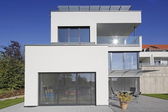 privathaus ellwangen minimalistisch h user stuttgart von architekturlevel. Black Bedroom Furniture Sets. Home Design Ideas