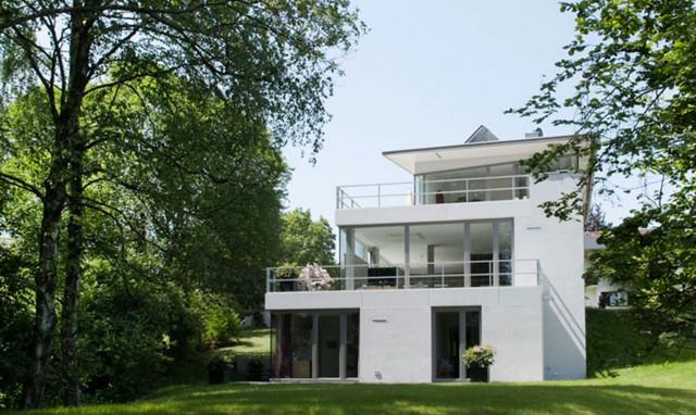 Queransicht 3 etagen for Modernes haus 2 etagen