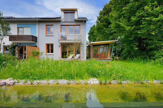 sanierung haus r contemporary exterior munich by rs 2 architekten. Black Bedroom Furniture Sets. Home Design Ideas
