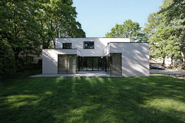 Stadtvilla Berlin-Karlshorst - Modern - Haus & Fassade - Berlin ...