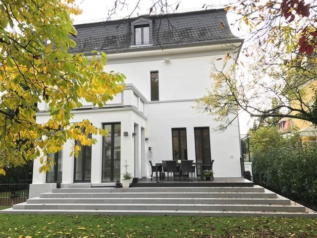 umbau anbau und sanierung einer villa aus den 20iger. Black Bedroom Furniture Sets. Home Design Ideas