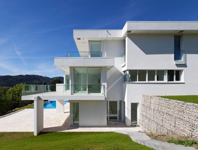 villa mit pool baden baden modern h user berlin von atelier altenkirch. Black Bedroom Furniture Sets. Home Design Ideas