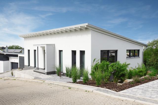 Moderne häuser pultdach  Modernes Haus mit Pultdach - Ideen, Design & Bilder
