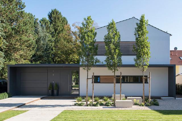 Vorgarten Design Modern - homeautodesign.com -