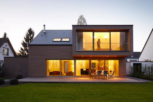 wohnhäuser modern häuser düsseldorf michael reisch