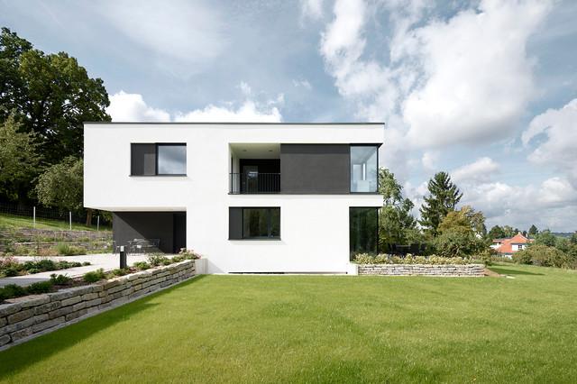 Wohnhaus a modern h user n rnberg von sebastian for Wohnhaus modern