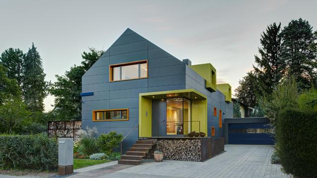 wohnhaus bad homburg contemporary exterior frankfurt am by multiline exclusives