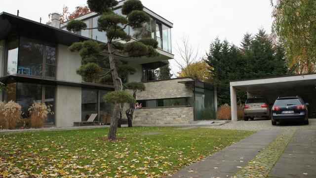 Wohnhaus in bremen oberneuland modern exterior other for Wohnhaus modern