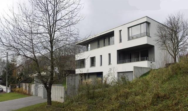 wohnhaus lu contemporary exterior leipzig by ahw. Black Bedroom Furniture Sets. Home Design Ideas