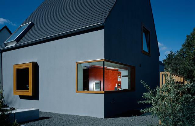 Wohnhaus m nchen laim modern haus fassade m nchen for Wohnhaus modern