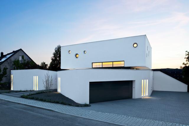 Wohnhaus W2 - Modern - Haus & Fassade - other metro - von [lu:p ...