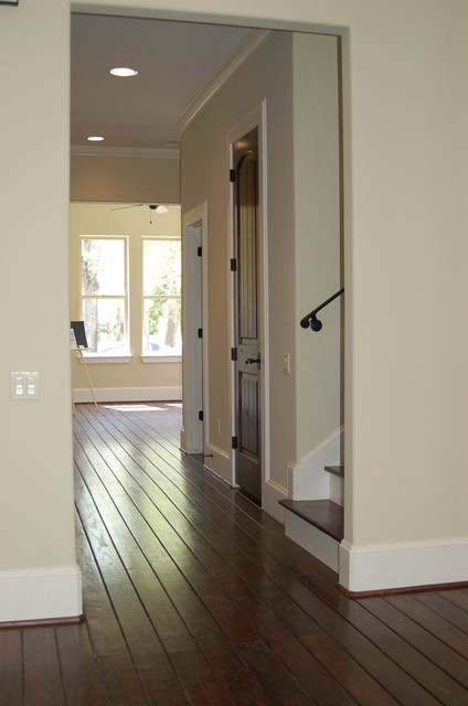 13th Street House traditional-hall